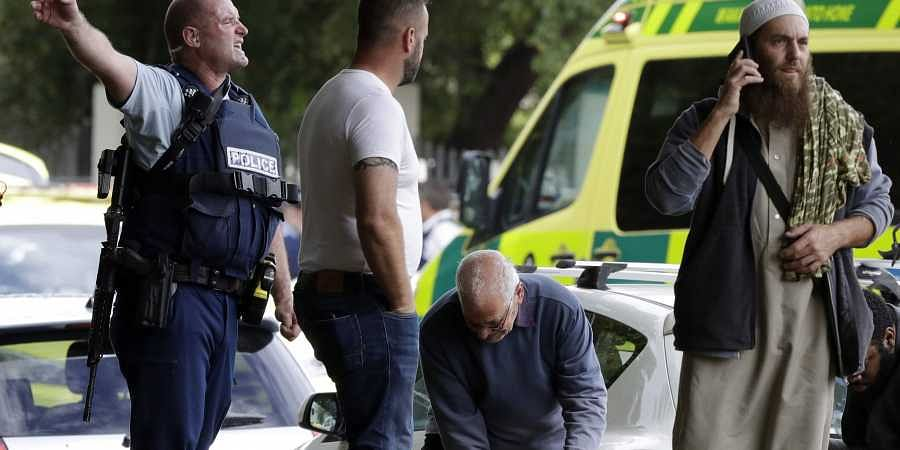 NZ mosque shooting New Zealand mosque shooting