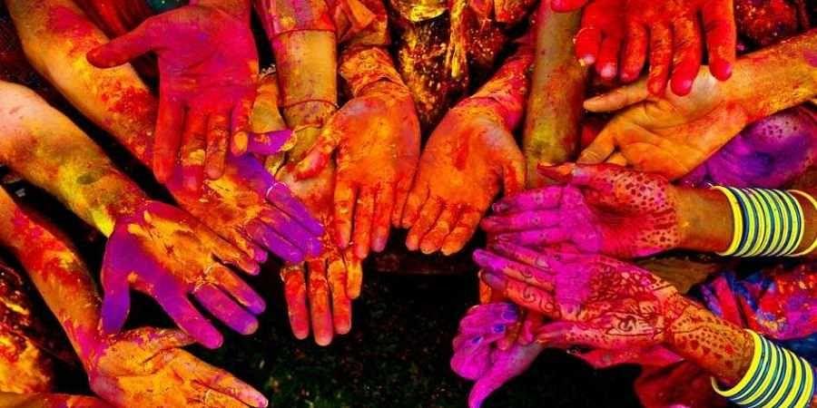 Holi,Colours, gulaal