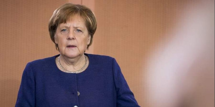 German Chancellor Angela Merkel. (Photo | AFP)