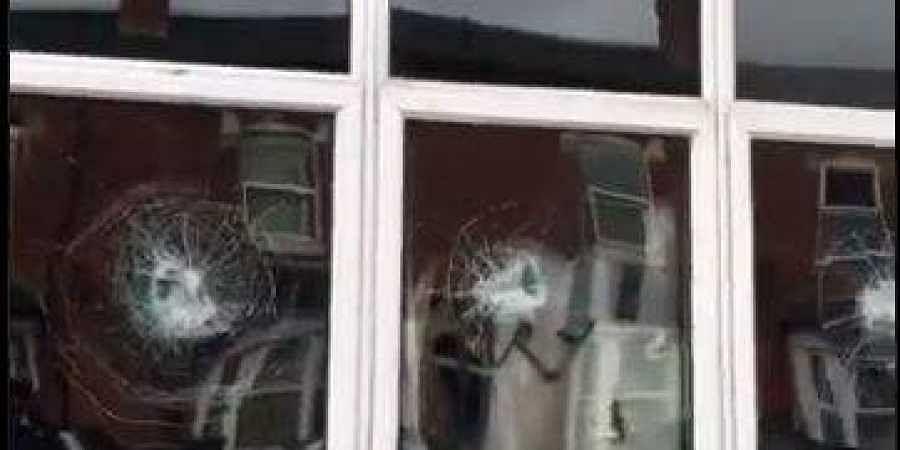 Birmingham mosque broken video