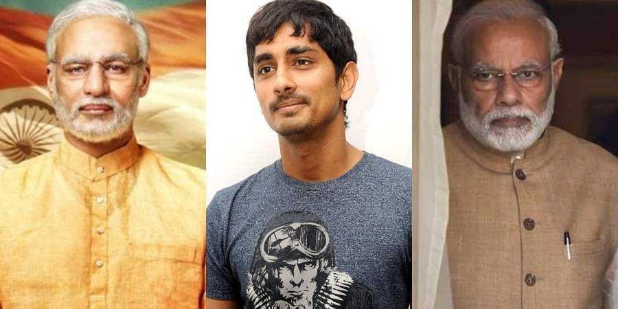 Image result for siddharth on narendra modi trailer