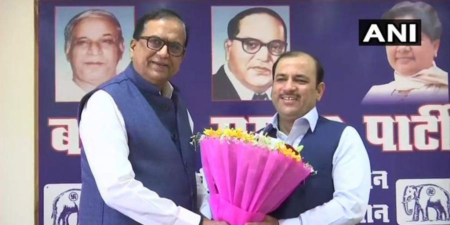 JD(S) secretary general Danish Ali quit the party and joined the BSP in Uttar Pradesh.