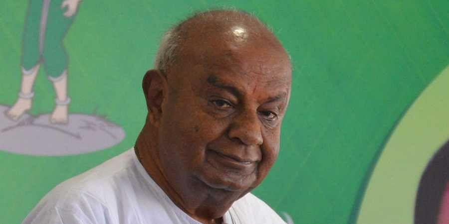 Former PM Deve Gowda