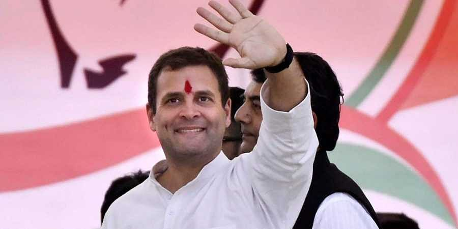AICC president Rahul Gandhi