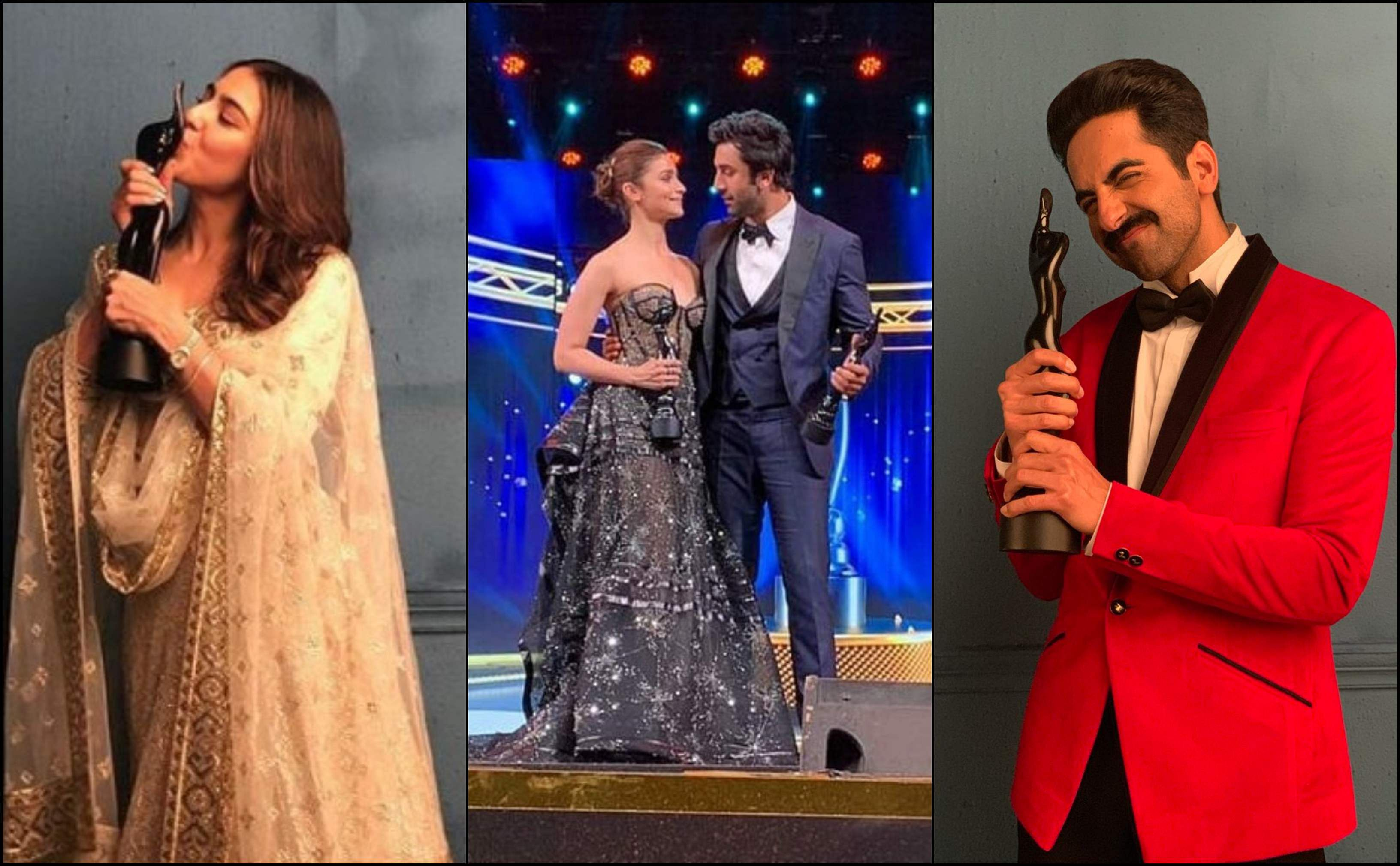 Filmfare Awards 2019 in pictures: Ranbir Kapoor, Alia Bhatt
