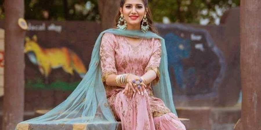 Haryanvi folk singer and dancer Sapna Choudhary