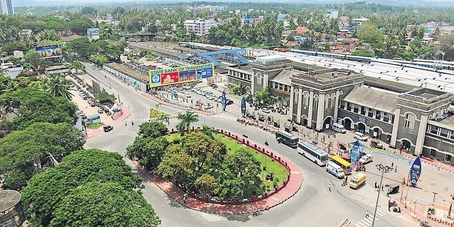 Thampanoor railway station