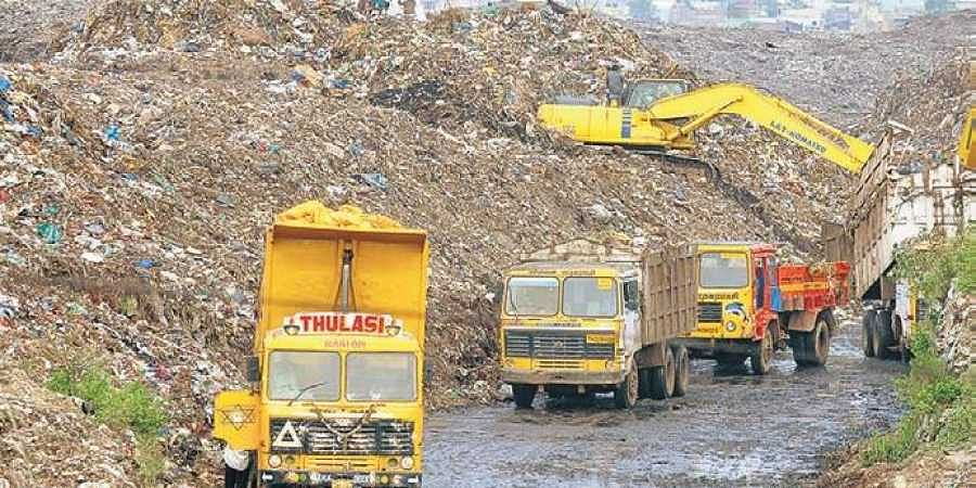 Kodungaiyur dump yard in Perambur Assembly constituency