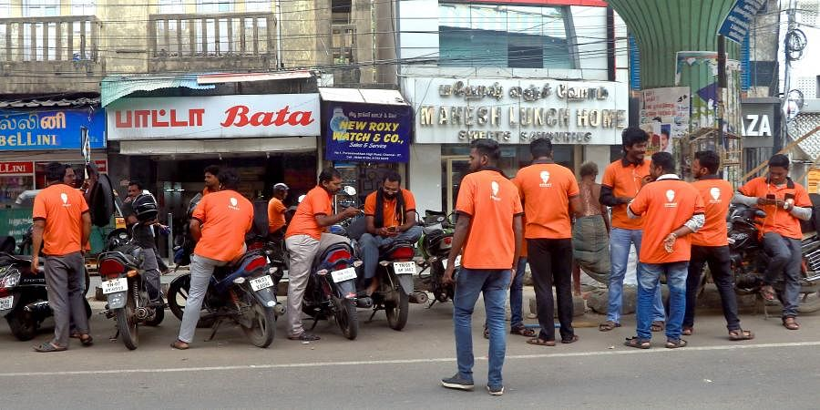 Swiggy delivery executives