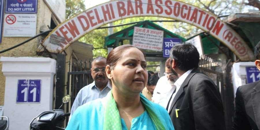 RJD chief Lalu Prasad Yadav's daughter Misa Bharti