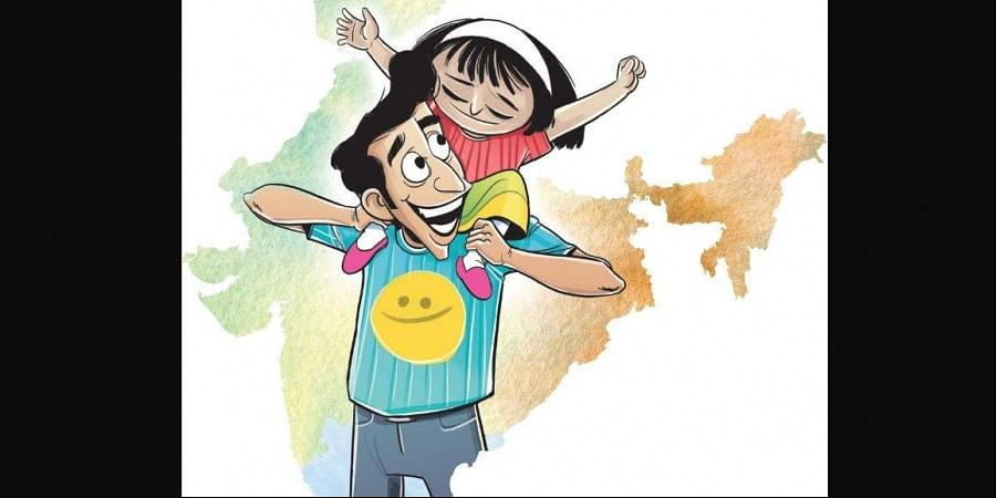 India was ranked 140 of the 156 nations on UN's 2019 World Happiness Report