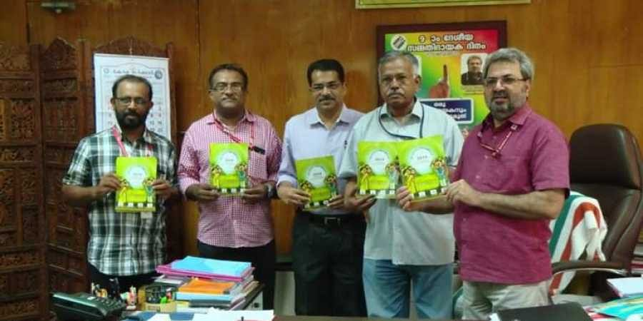 Officials launch the Haritha Kerala Mission