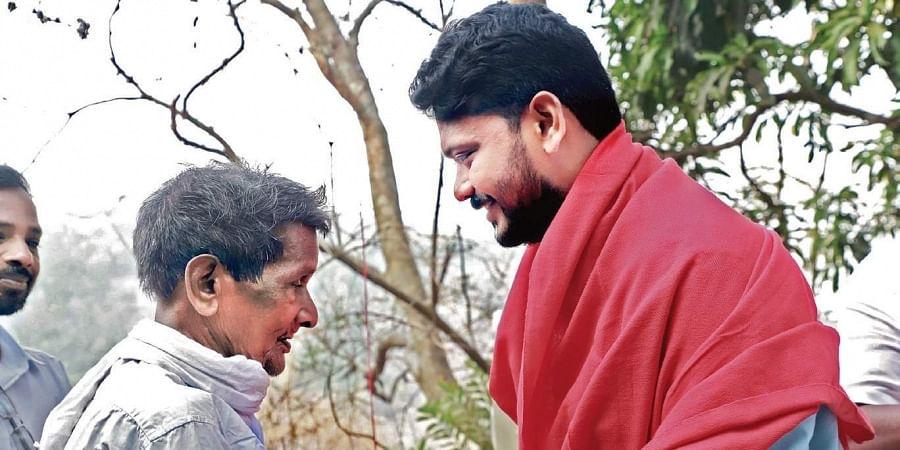 Malappuram Lok Sabha constituency LDF candidate VP Sanu during his election campaign  at Kondotty
