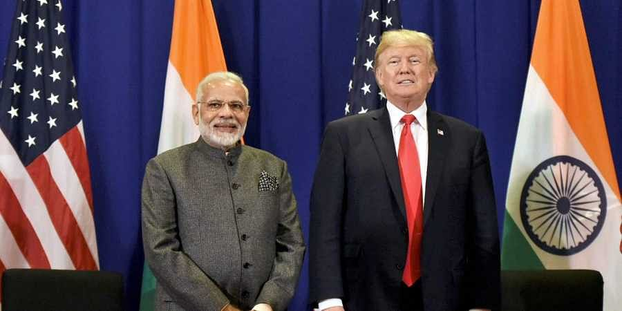 PM Narendra Modi and US President Donald Trump (File Photo | PTI)