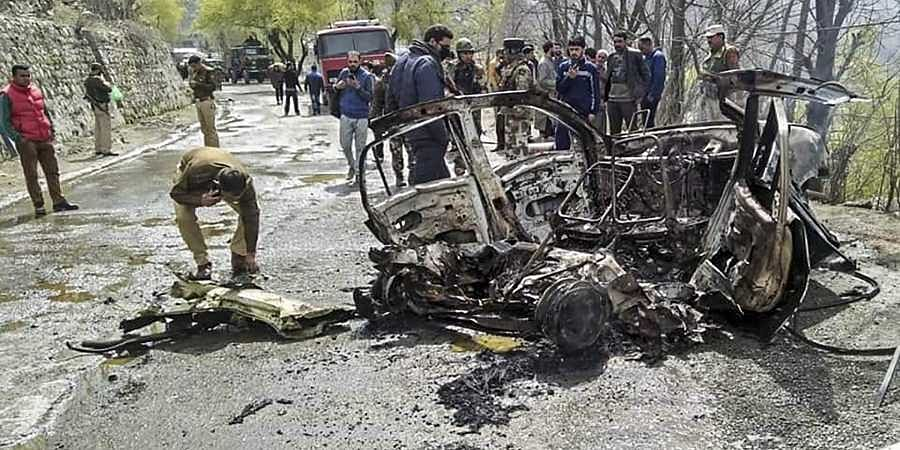 Jammu explosion
