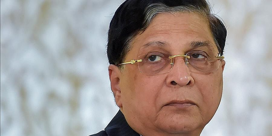 Former Chief Justice of India Dipak Misra