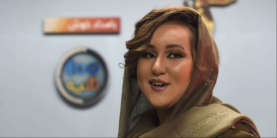 Zahra Elham, first woman to win 'Afghan Star' TV show to fight Taliban with music