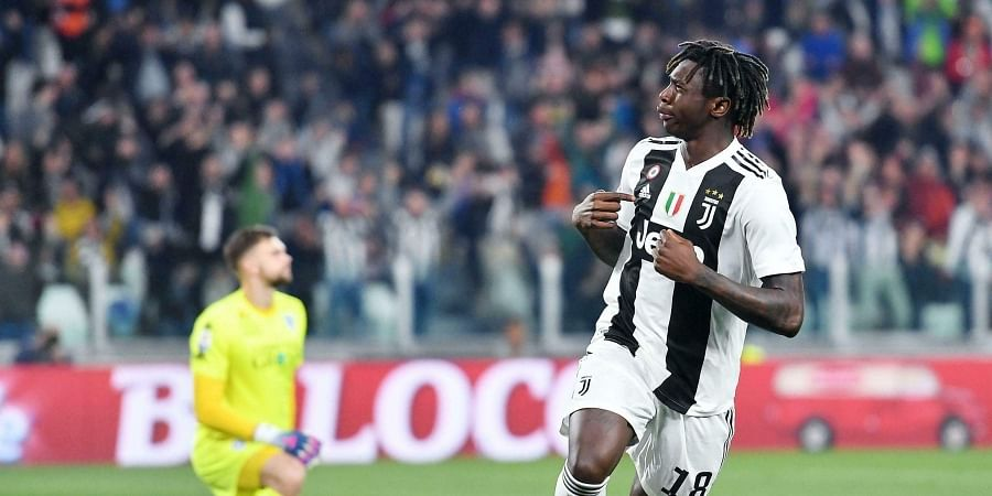 Juventus' Moise Kean