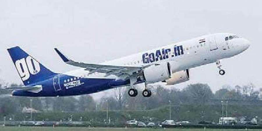 Go Air flight