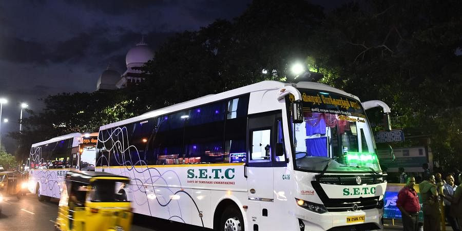 Tamil Nadu To Launch Low Cost Ac Buses By Next Week The
