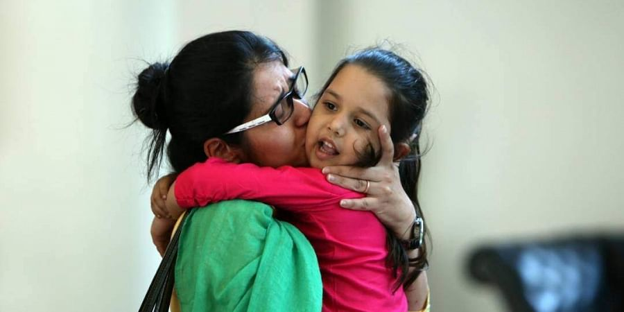 Uzma Ahmed is reunited with her daughter on Thursday, May 25 after her ordeal in Pakistan. Uzma had petitioned the Islamabad High Court on May 12 requesting that she be allowed to return home to India urgently as her daughter from her first marriage in In