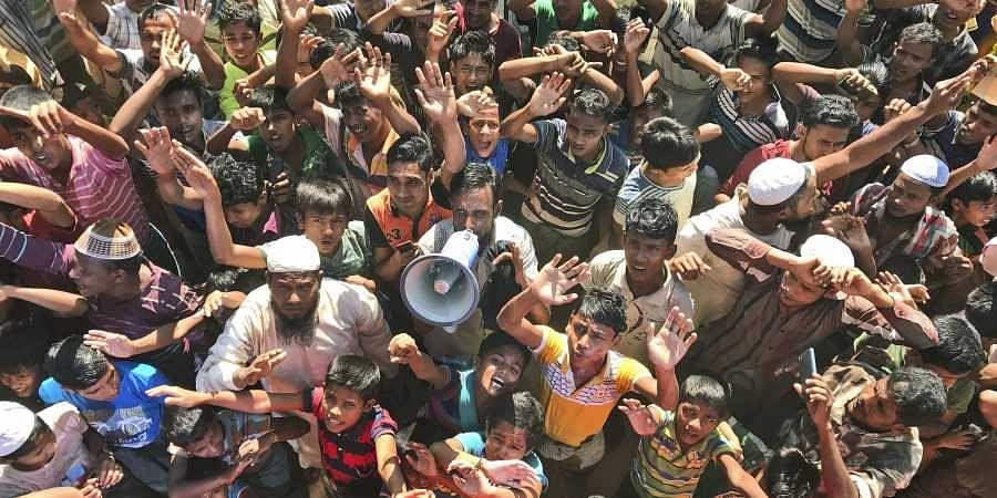 Rohingyan camp