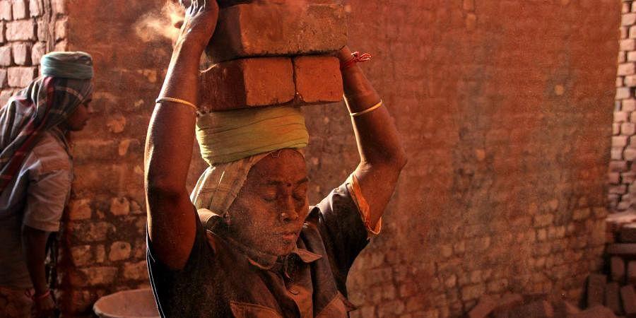 brick kilns, bricks