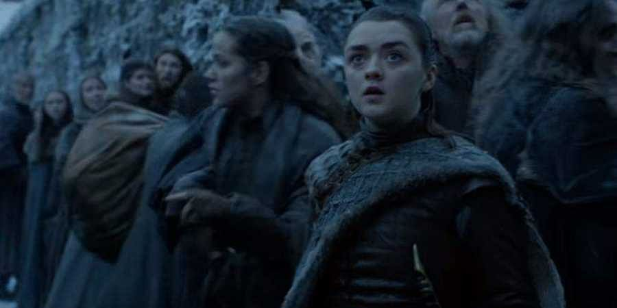 Arya Stark in Games of Thrones Season 8 trailer. (YouTube screengrab)