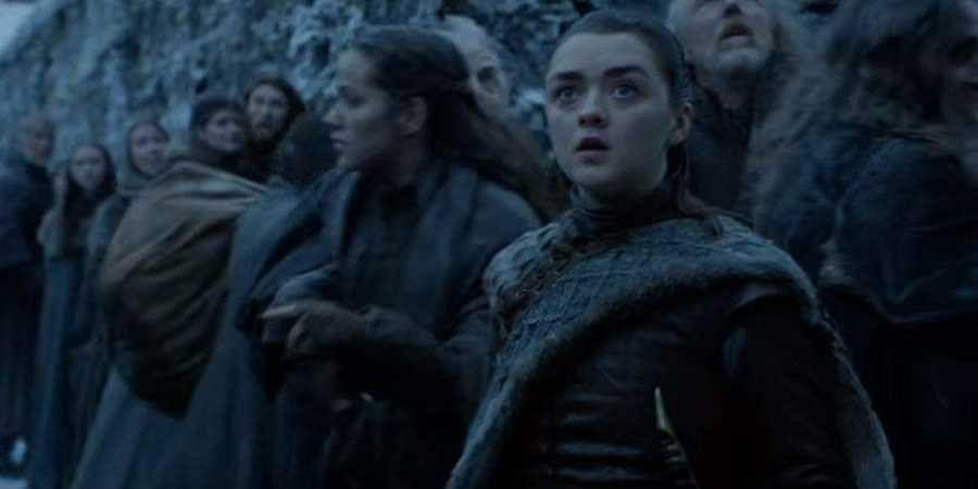 Arya Stark in Games of Thrones Season 8 trailer. (YouTube screengrab)