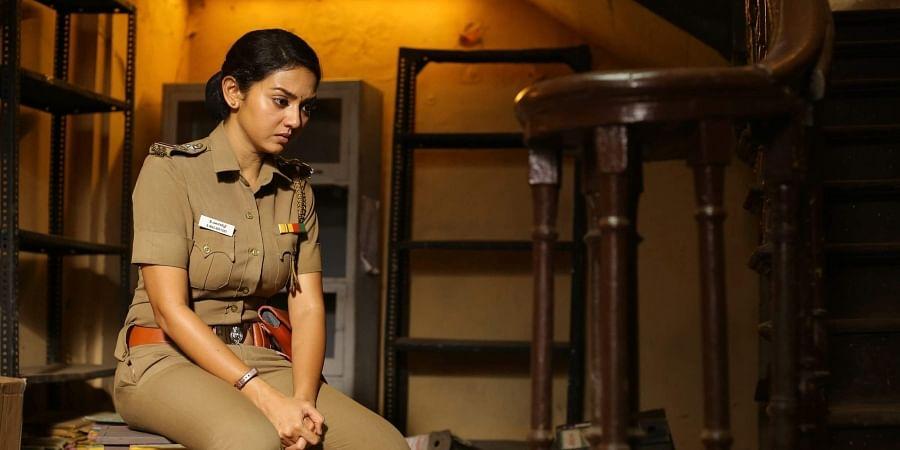 Actress Vidya Pradeep in Thadam.