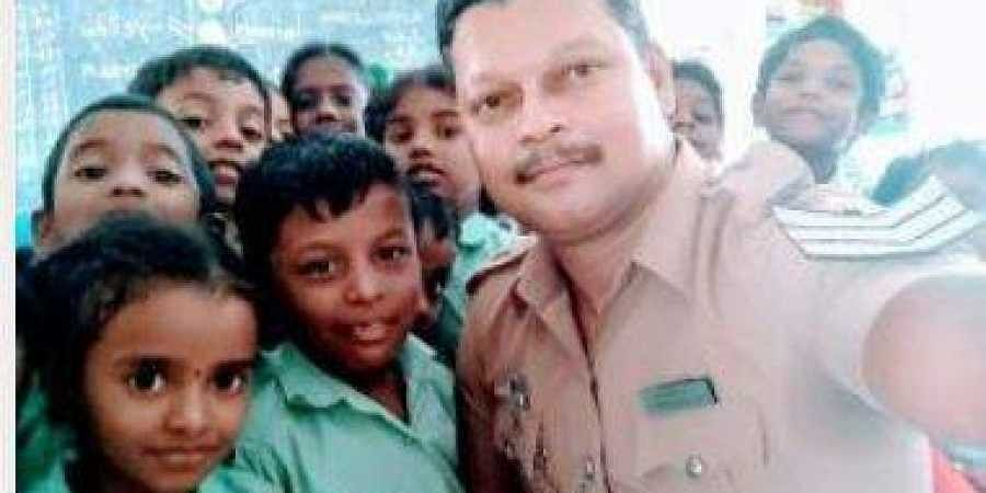 Chennai cop donates two months' salary to alma mater- The New Indian
