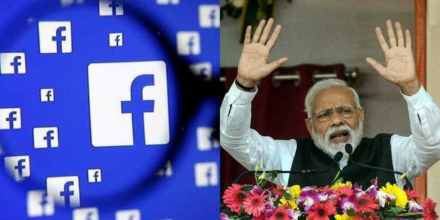 A pro-BJP page, Bharat Ke Mann Ki Baat, alone spent over Rs 1 crore for political ads on Facebook last month.