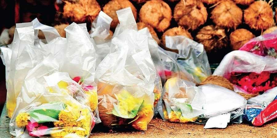 Plastic carry bags.   | vinay madapu