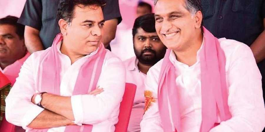KT Rama Rao issues friendly challenge to T Harish Rao- The