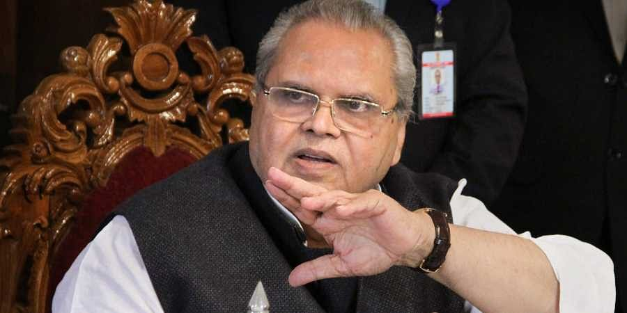 Jammu and Kashmir Governor Satya Pal Malik