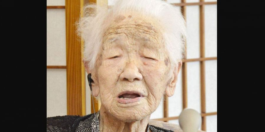 The 116-year-old Japanese woman who loves playing the board game Othello is being honored as the world's oldest living person by Guinness World Records. (Photo | AP)
