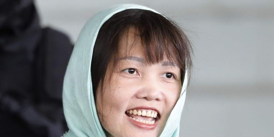 Vietnamese Doan Thi Huong leaves Shah Alam High Court in Shah Alam, Malaysia. (Photo | AP)