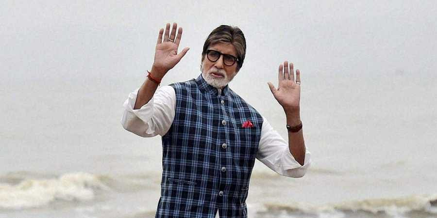 Check out Amitabh Bachchan's first look from his Tamil debut 'Uyarntha Manithan'