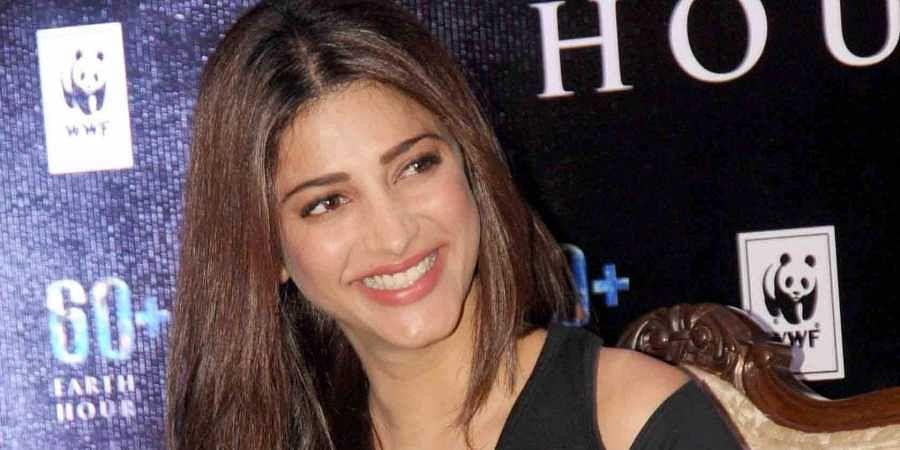 Kollywood actress Shruti Haasan