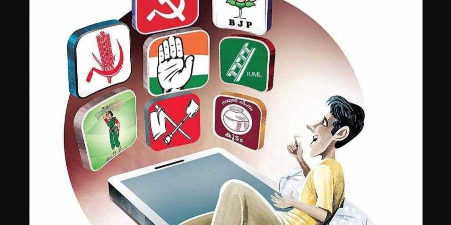 Kerala political campaign apps