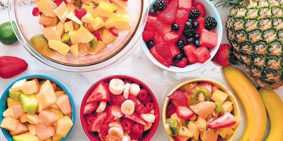 Healthy food, fruits