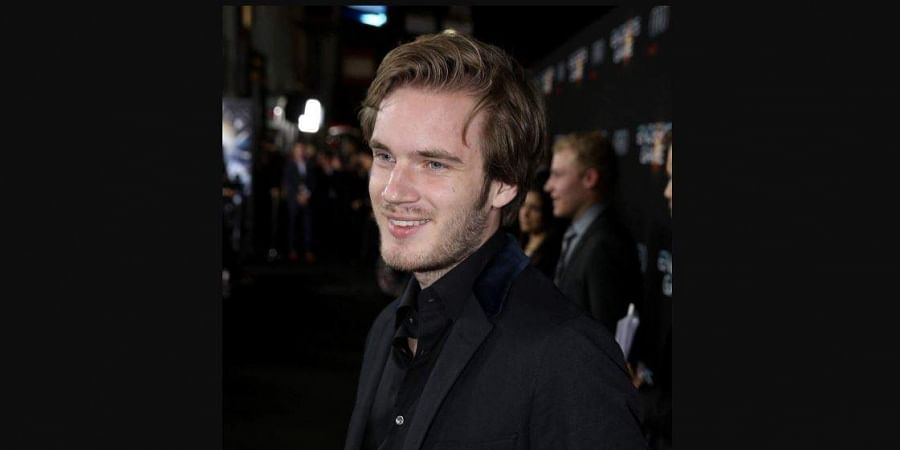 YouTube's most-watched blogger PewDiePie (Photo | AP)