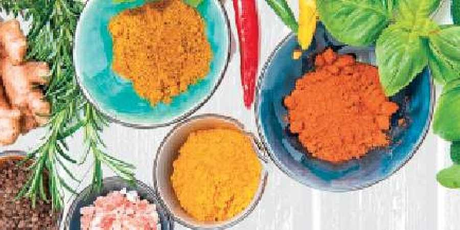 Turmeric, masala, chiili poweder, recipe, food