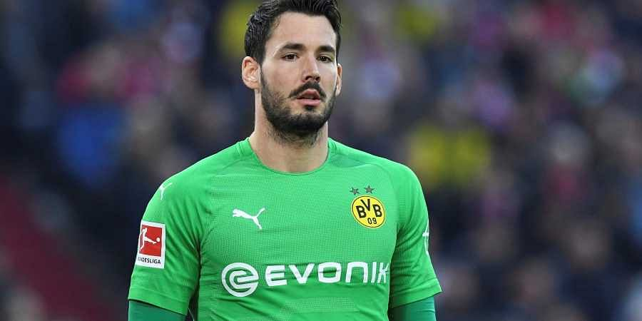 8b55a4994 Bundesliga   Fearless  Borussia Dortmund goalkeeper Roman Buerki ...