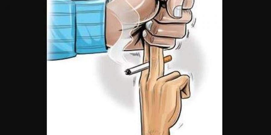 Smoking death, Smoking accident