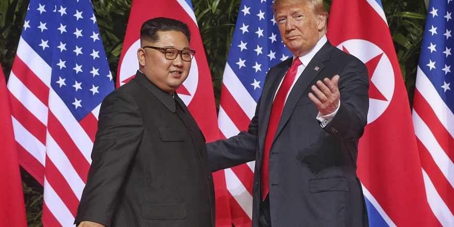 Kim Jong Un, Trump