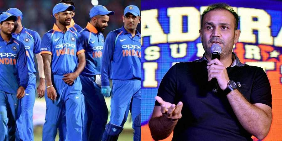 With just weeks away from ICC World Cup 2019, check out Virender Sehwag's15-member Indian squad for cricket's biggest extravaganza.