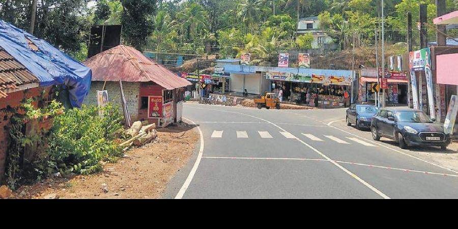 Pakistanmukku near Mithrumala in Kallara, Thiruvananthapuram