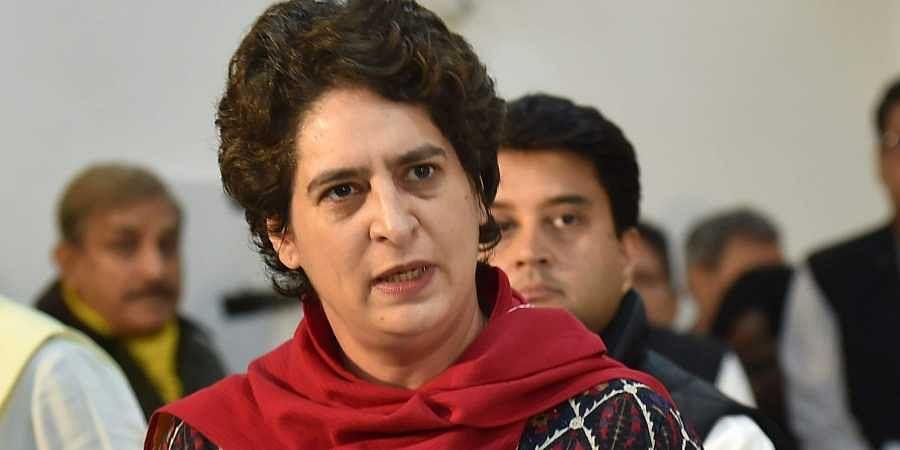 Congress leader Priyanka Gandhi