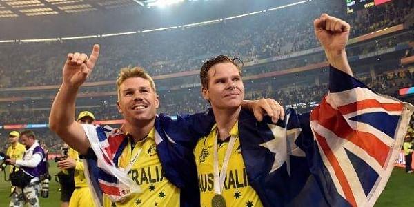 Australia's player Steve Smith (R) and David Warner. (File | AFP)